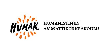 Humakin värillinen logo